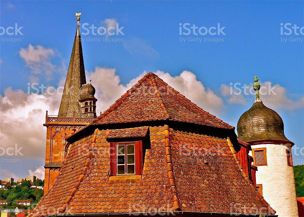 Wertheim royalty-free stock photo