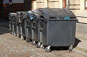 Wertstofftonnen, Müllcontainer