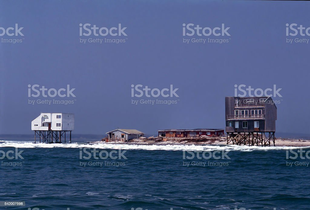 Weshampton Beach stock photo