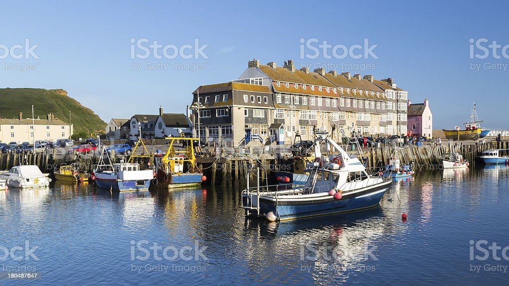West Bay Dorset England - Royalty-free Beach Stock Photo