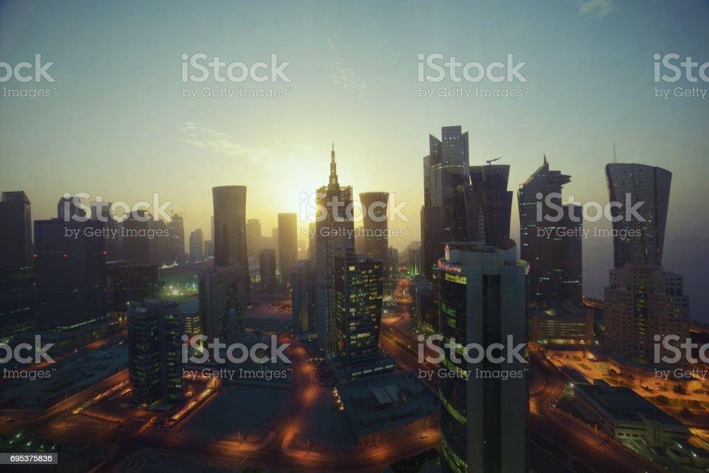 West Bay, Katar – Foto
