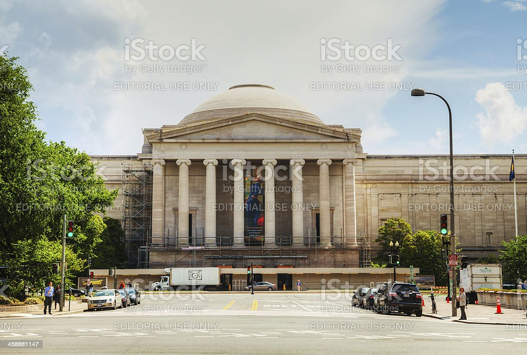West Building of the National Art Gallery stock photo