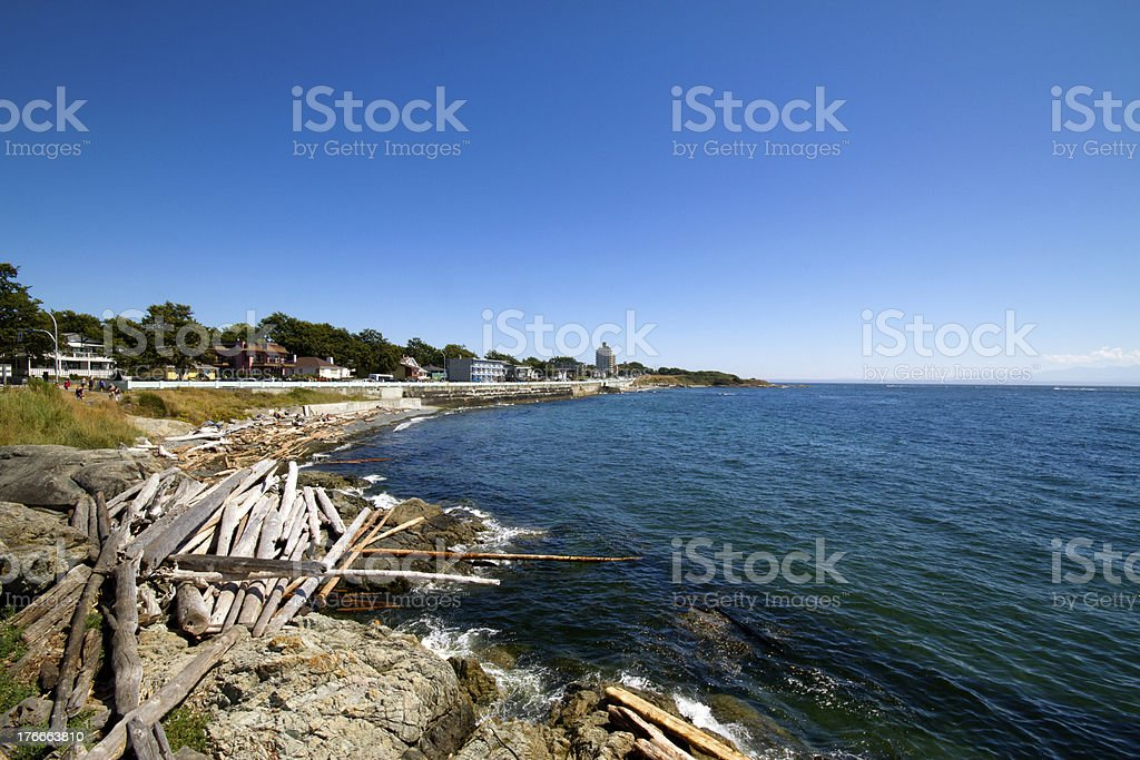 West Coast Ocean View royalty-free stock photo