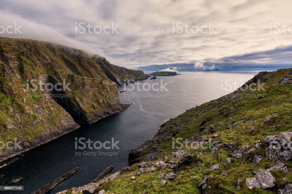 West coast of Ireland royalty-free stock photo