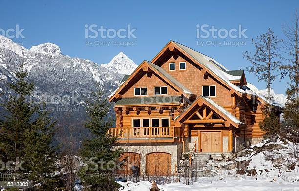 West coast wooden house during winter in mountains picture id153130031?b=1&k=6&m=153130031&s=612x612&h=uqroeusxdxpiyph4qzfaadqt93nksieq v6cbecw9jy=