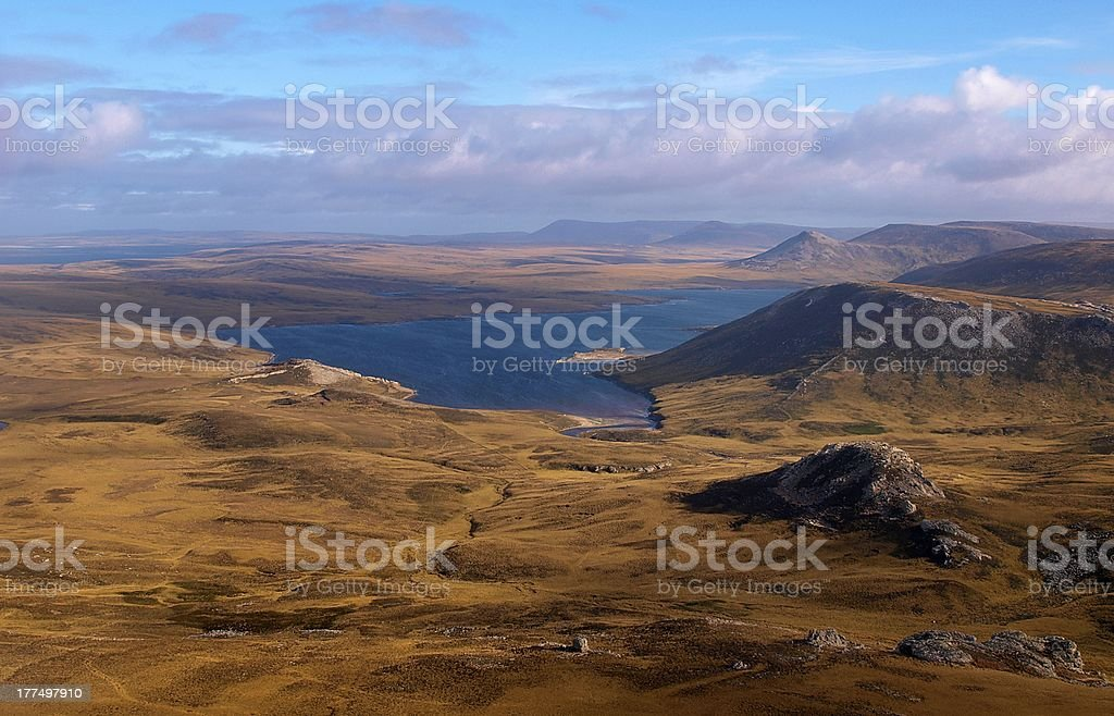 West Falkland stock photo