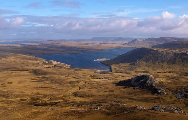 West Falkland stock photo