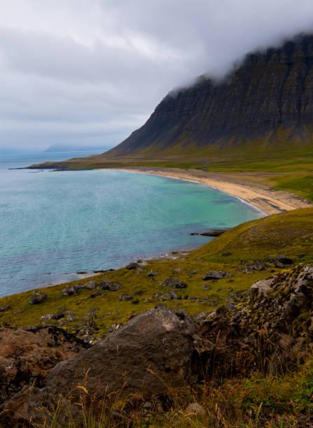 West Fjords Coastline stock photo