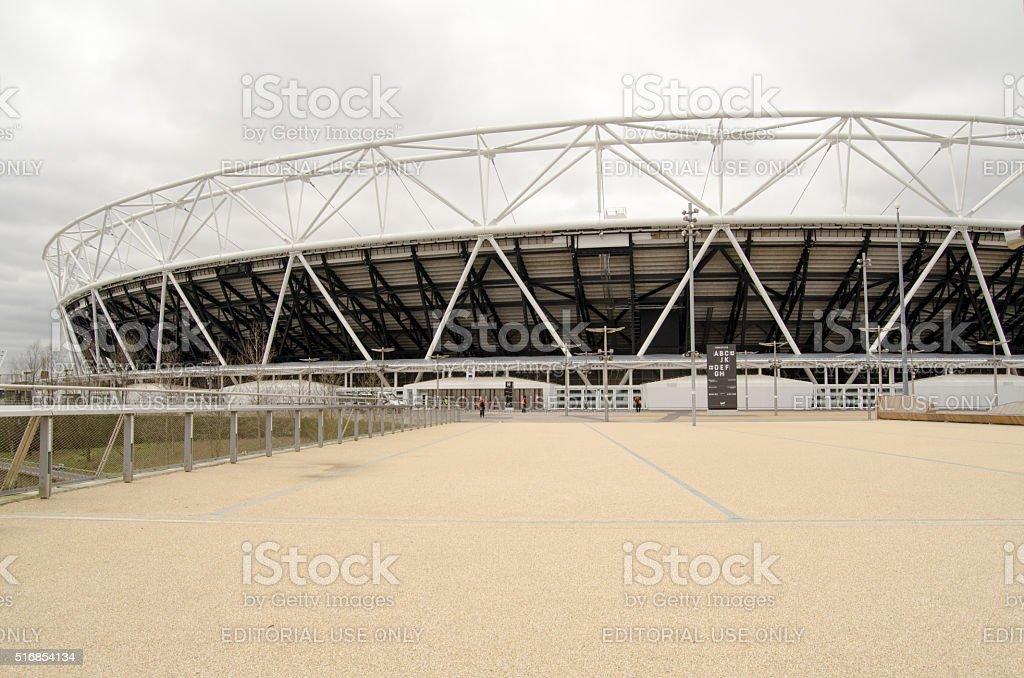 West Ham United New Stadium, Stratford stock photo