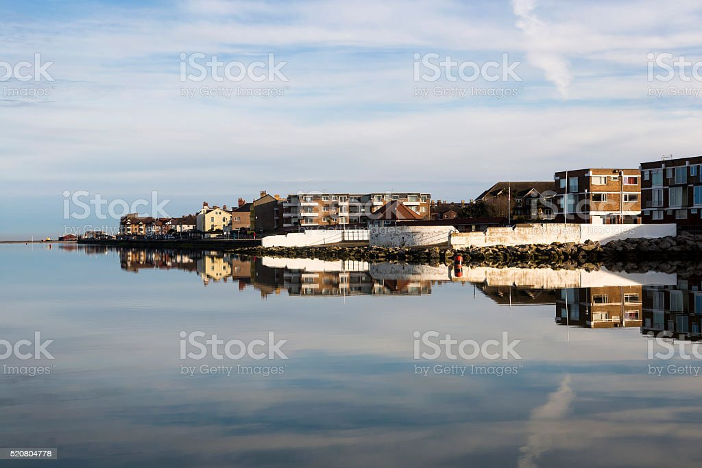 West Kirby Marine Lake royalty-free stock photo