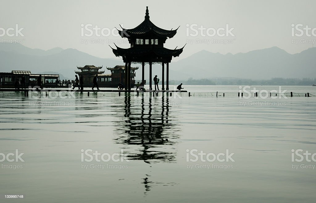 West Lake Hangzhou China royalty-free stock photo