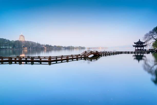 West Lake stock photo