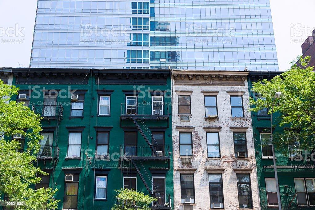 West Manhattan New York city NYC at US stock photo