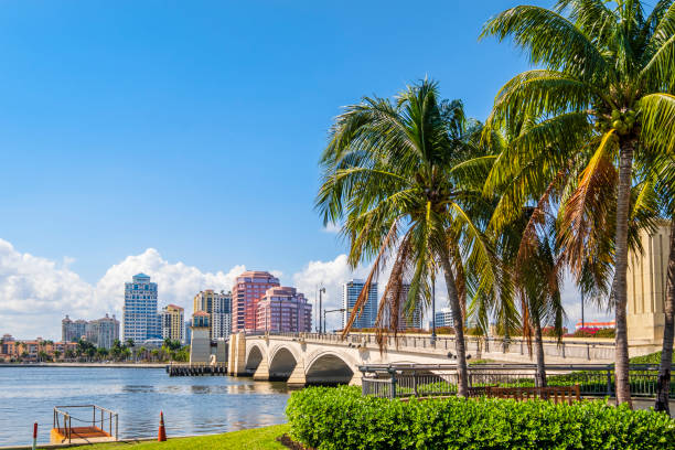 West Palm Beach, Florida (US) Florida bay of water stock pictures, royalty-free photos & images