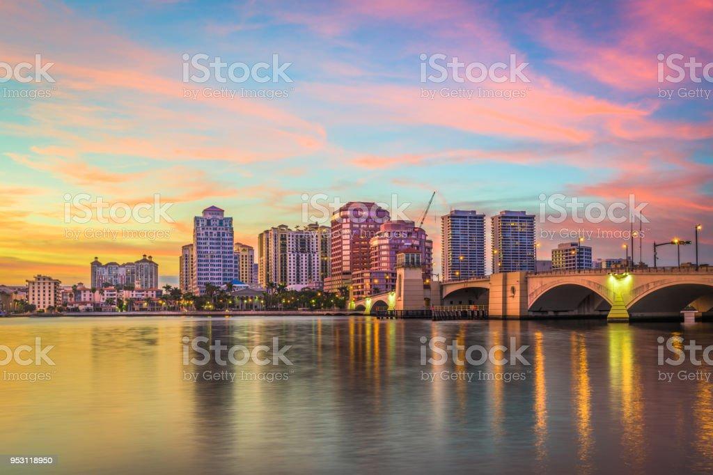 West Palm Beach, Florida, USA stock photo