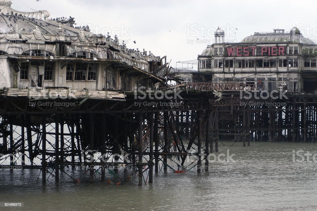 West Pier 3 royalty-free stock photo