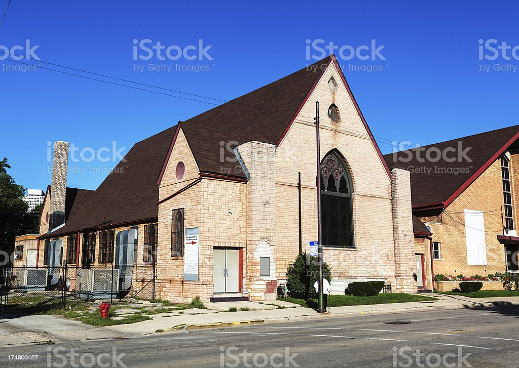 West Point Baptist Church, Chicago royalty-free stock photo