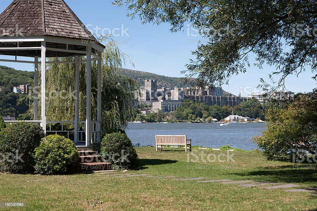 West Point View stock photo