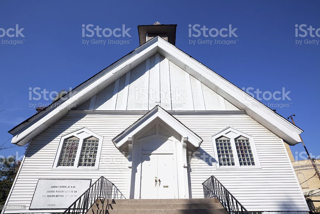 West Pullman Baptist Church, Chicago royalty-free stock photo
