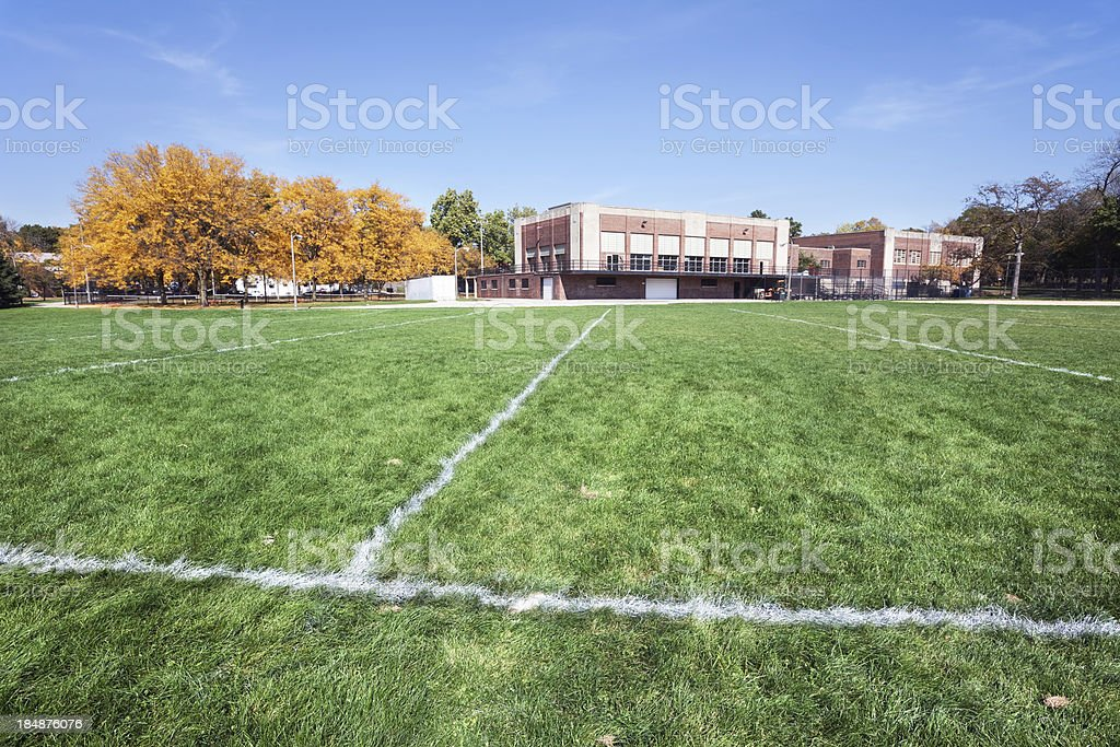 West Pullman Park and Fieldhouse, Chicago royalty-free stock photo