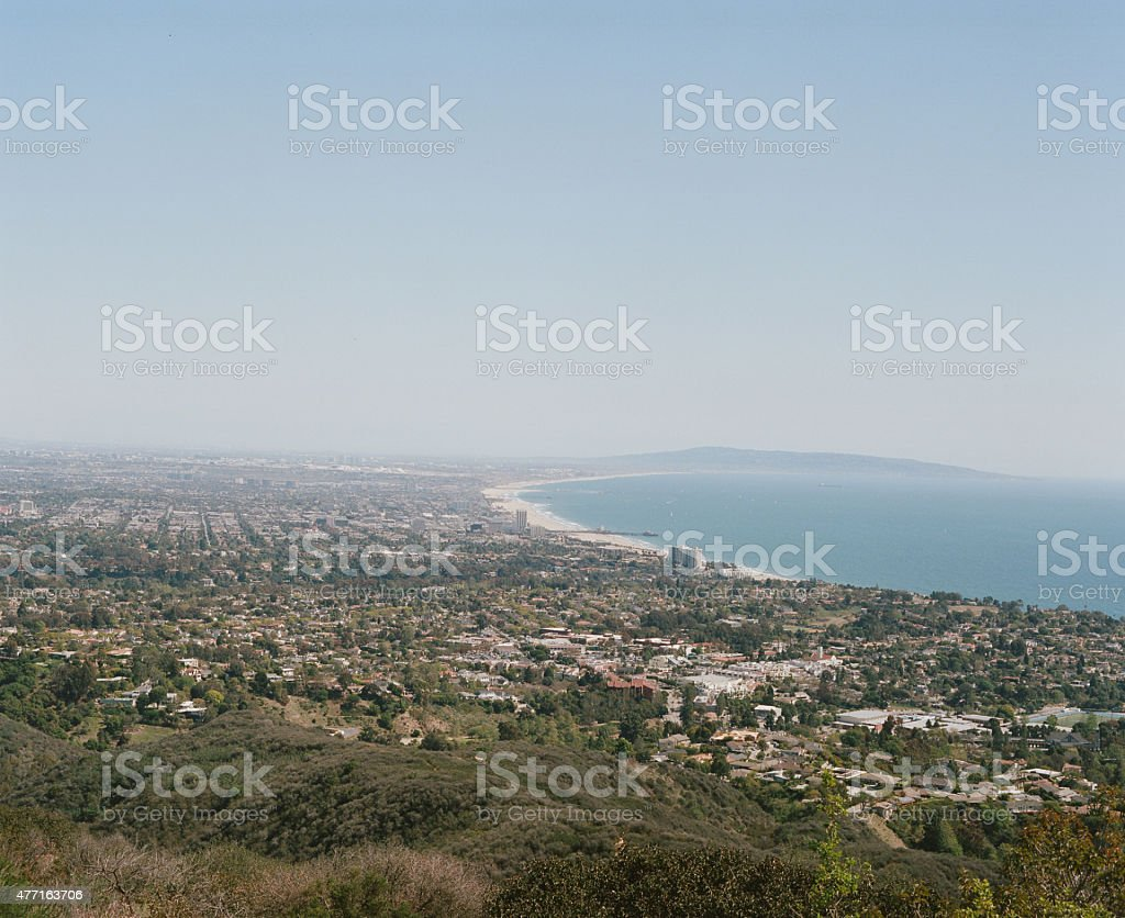 West side Los angeles stock photo
