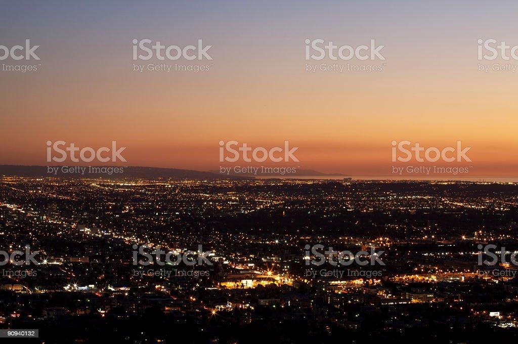 West LA der Dämmerung – Foto