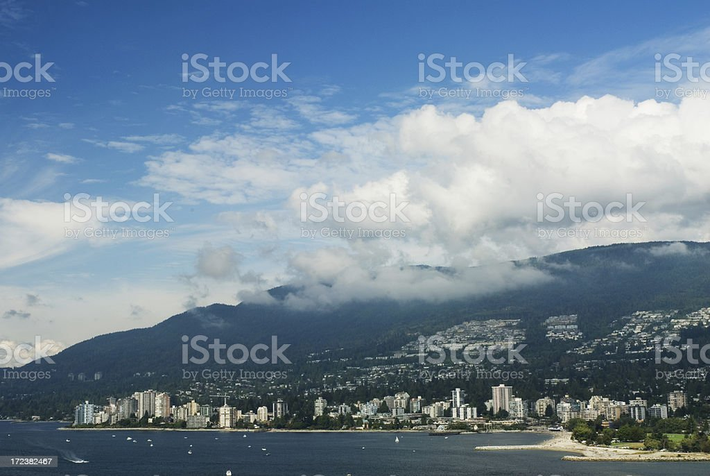 West Vancouver royalty-free stock photo