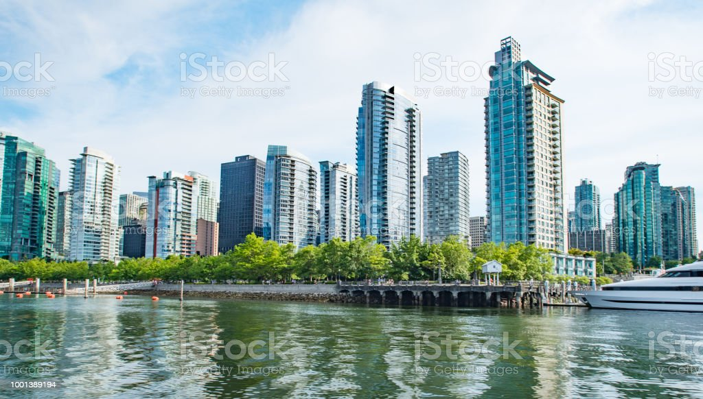 West Vancouver water front photograph stock photo