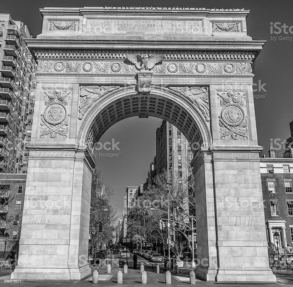 NYC - West Village stock photo