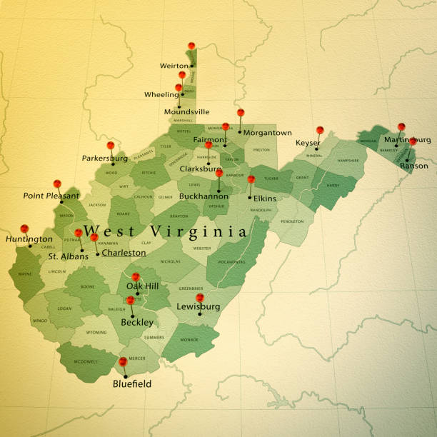 Royalty Free West Virginia Map Pictures Images And Stock Photos