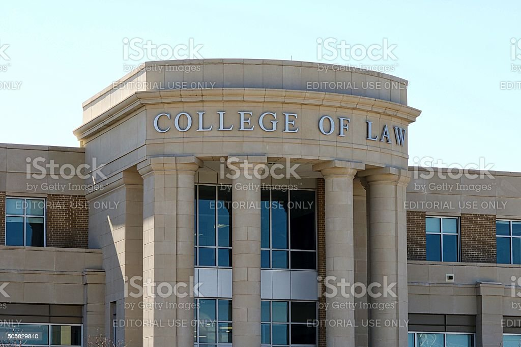 West Virginia University - College of Law stock photo