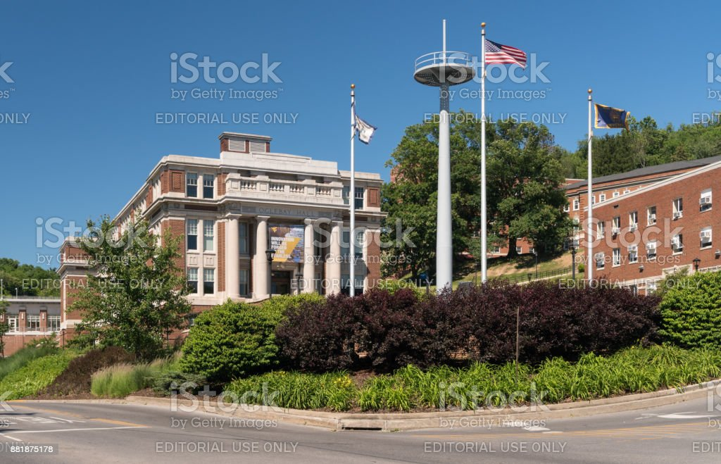 West Virginia University in Morgantown WV stock photo