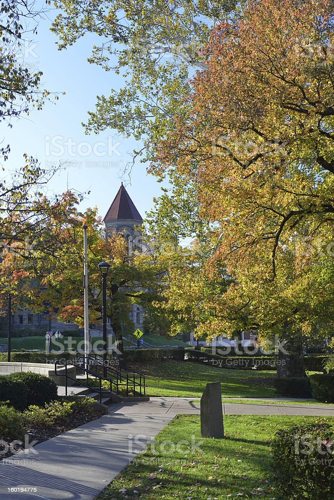 West Virginia University stock photo