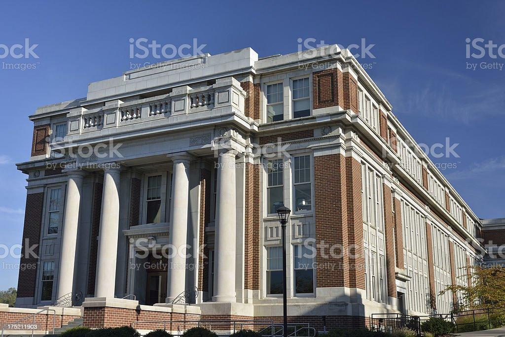 West Virginia University stock photo