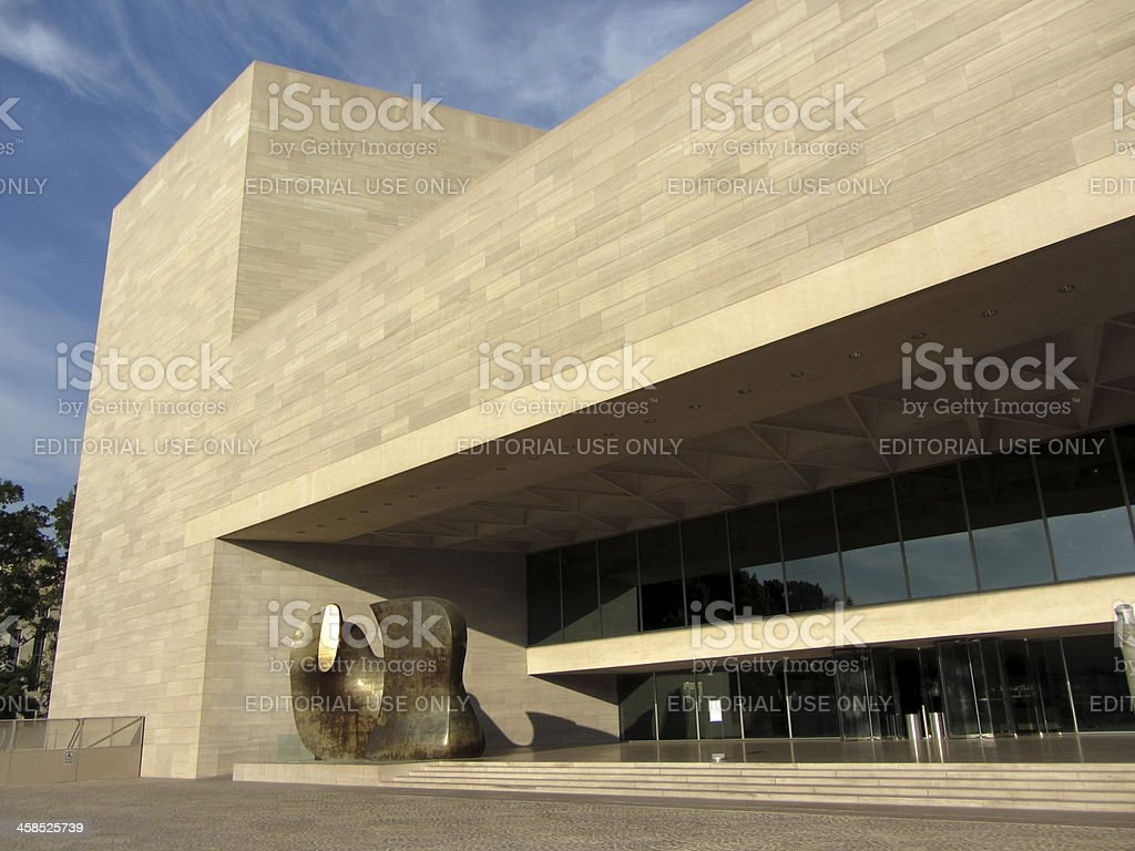 West Wing-National Gallery of Art stock photo