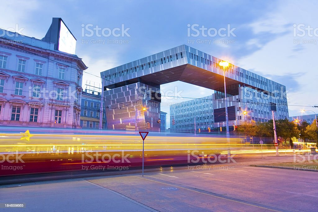 Westbahnhof royalty-free stock photo