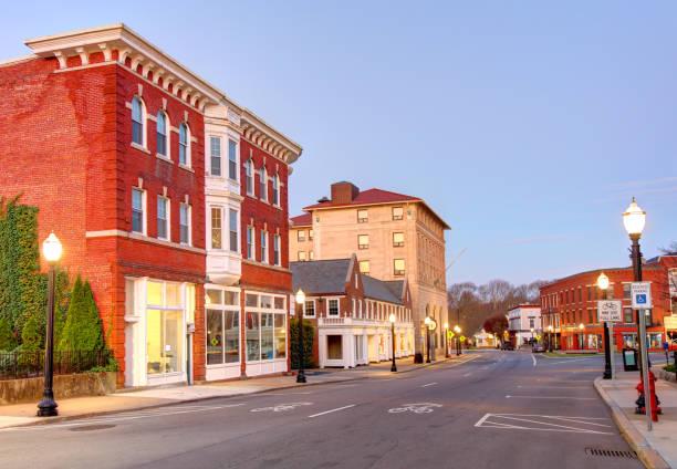 Westerly, Rhode Island stock photo