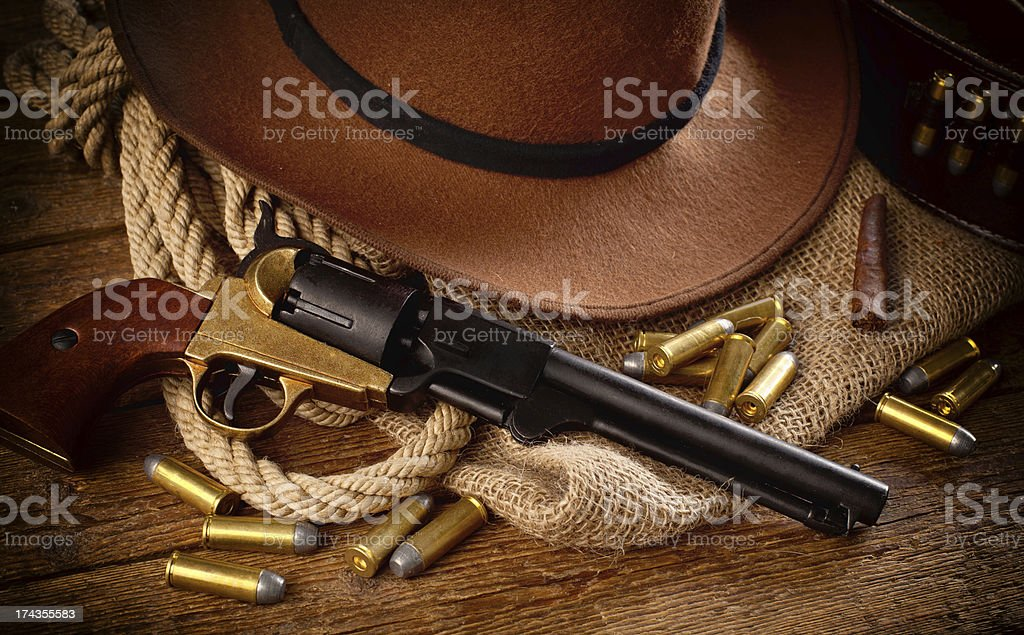 Western accessories royalty-free stock photo