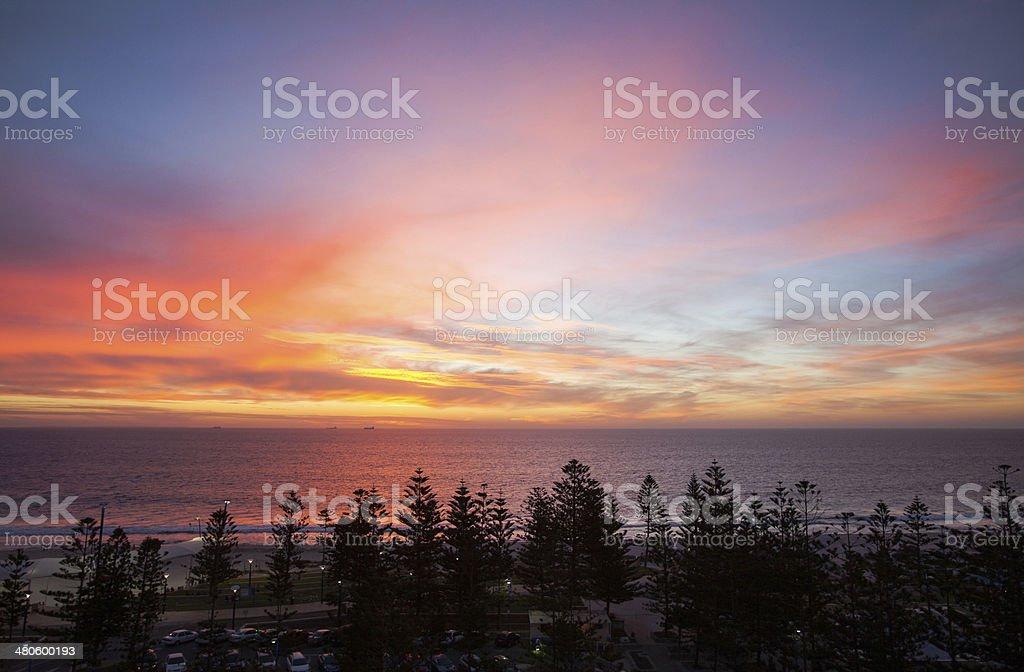 Western Australian Sunset stock photo