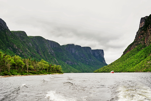 Cruising in this beautiful  fjord located in the Gros Morne National Park on the west coast of Newfoundland Island.