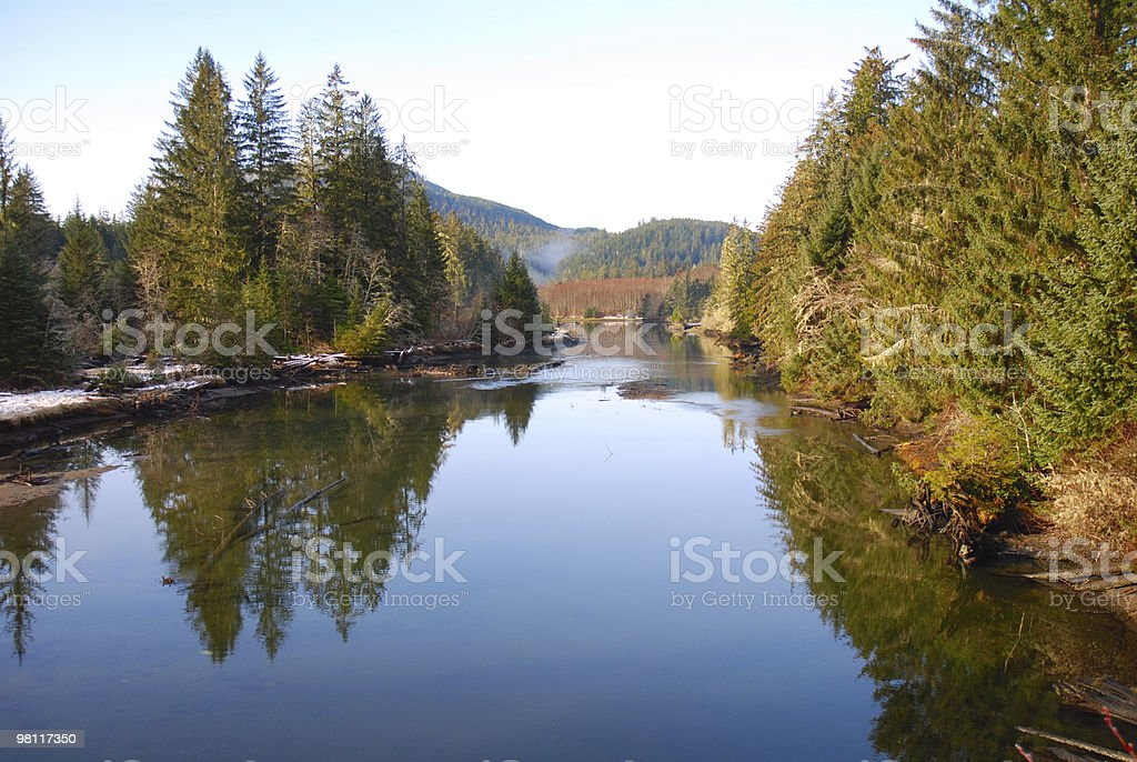 Western Canada Nature Scene royalty-free stock photo