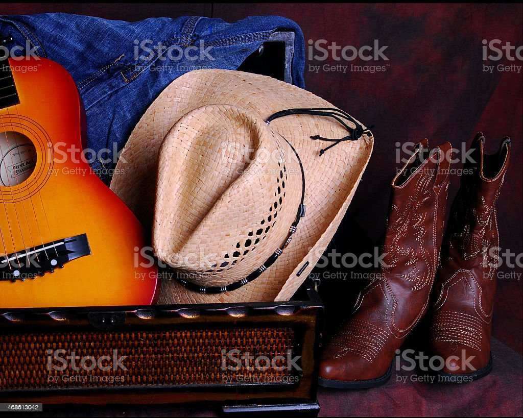 Western Country look stock photo