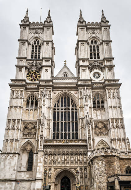 Westfassade der Westminster Abbey in London – Foto