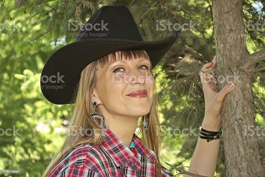 western girl royalty-free stock photo