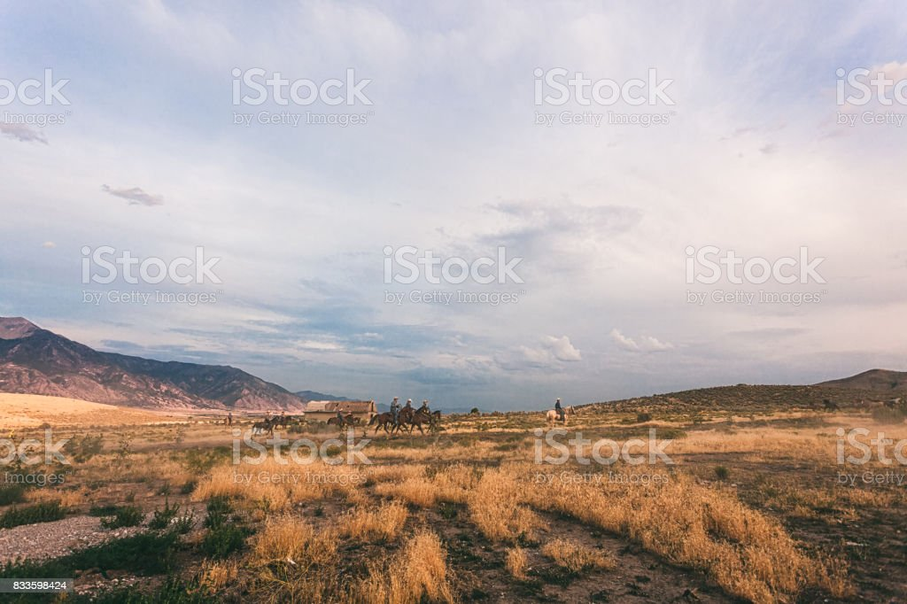 western landscape stock photo
