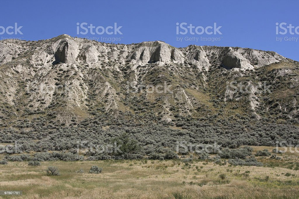 Western landscape royalty-free stock photo