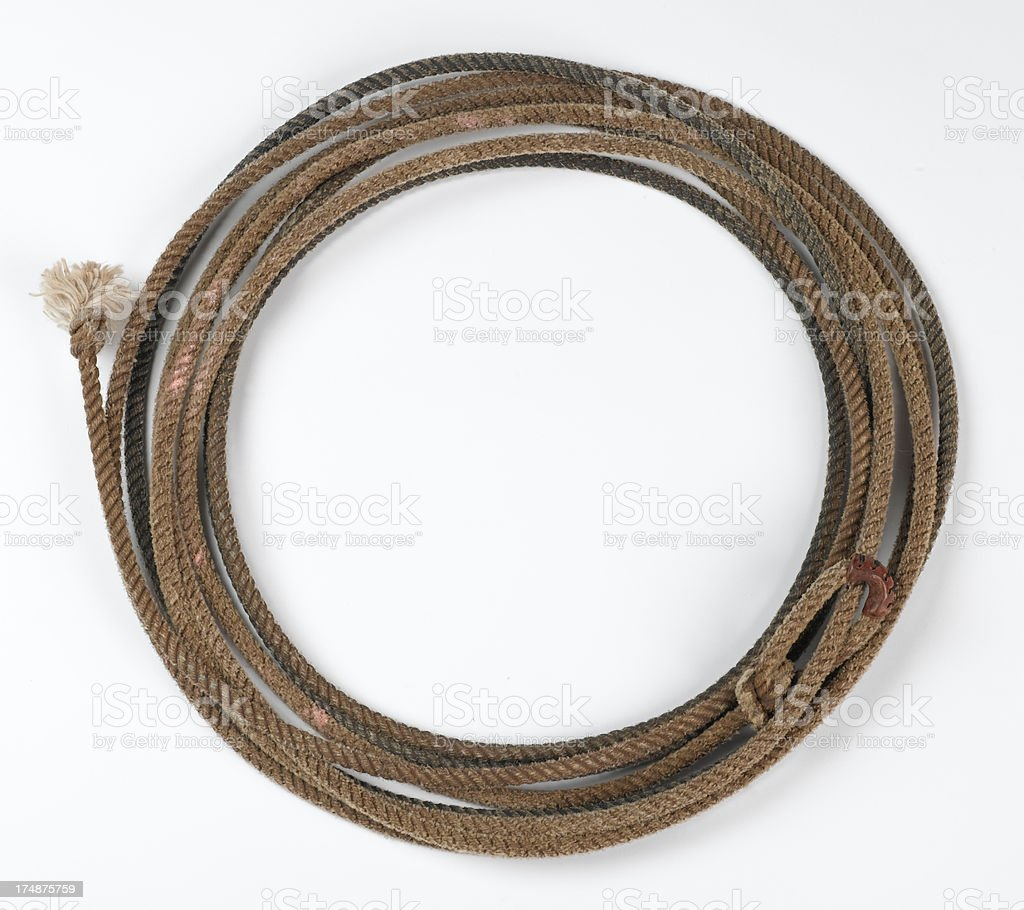 Western Lasso stock photo