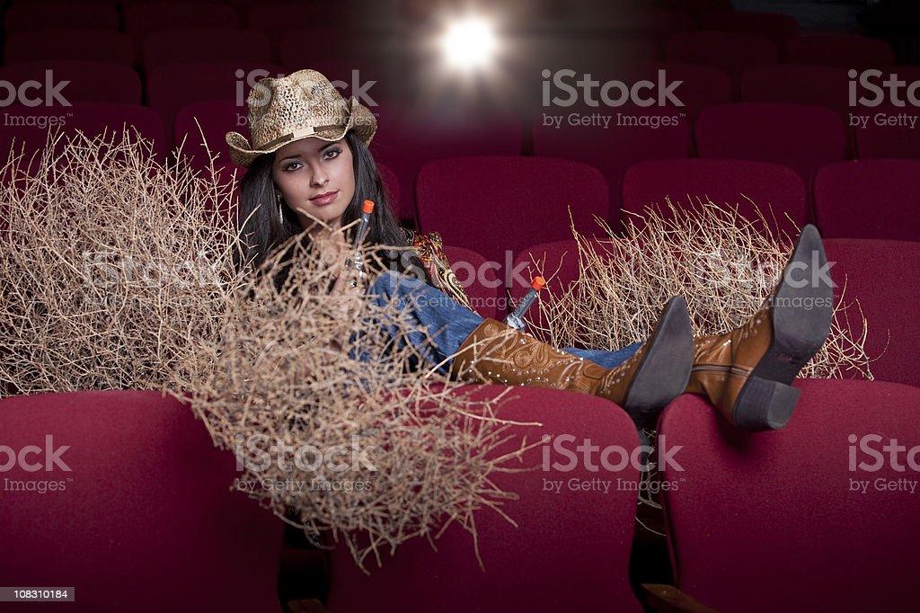 western movie royalty-free stock photo