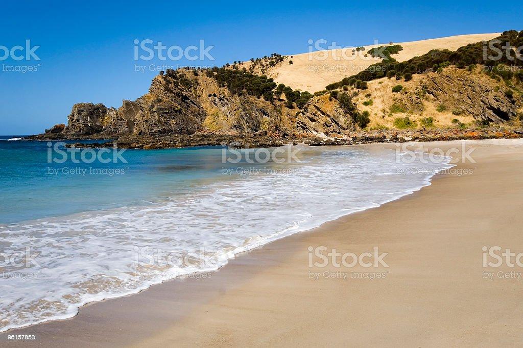 Western River Cove Beach, Kangaroo Island stock photo