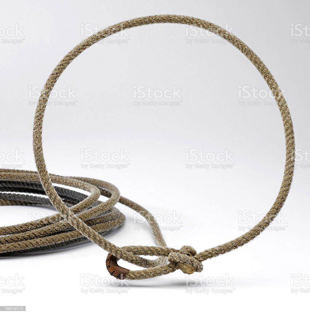 Western Rope stock photo